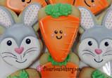 Happy Carrot Cookie