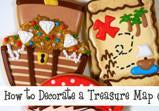 Treasure Map Cookie