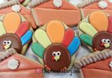 Turkey Cupcake Cookie
