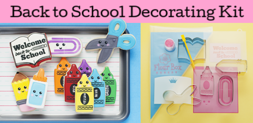 Back to School Cookie Decorating KIT