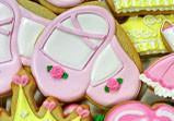 Ballet Slippers Cookie