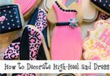 High Heel and Dress Cookie