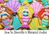 Flour Box Bakery Mermaid Cookie (with sundae cutter)