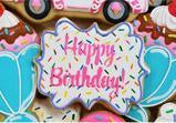 Sprinkle Plaque Cookie