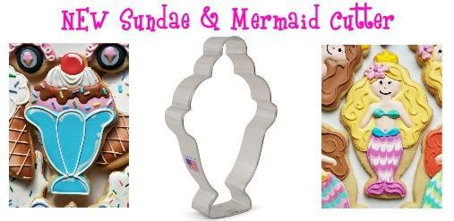 Flour Box Bakery Sundae/Mermaid Cookie Cutter