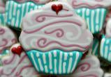 Swirly Cupcake Cookie