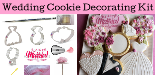 Wedding Cookie Decorating KIT
