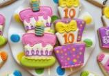 Whimsical Birthday Cake Cookie