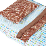 Pebble Blue - Cot Bedding
