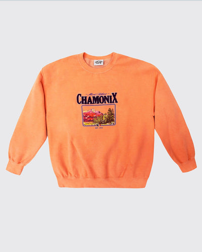 Chamonix Chenille Patch Sweat