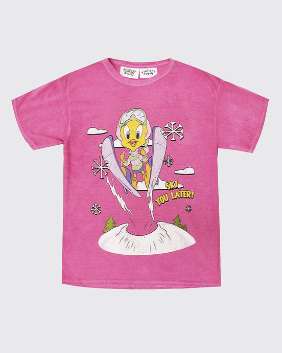 Tweety Ski You Later Tee