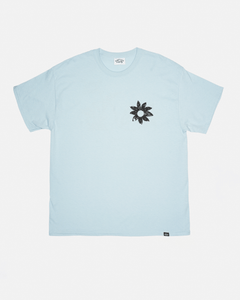 FLOWER DOODLE GRAPHIC TEE