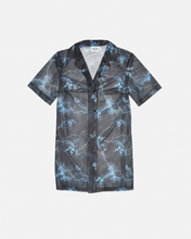 Load image into Gallery viewer, Airtex Shirt Dress Lightening Butterfly Print