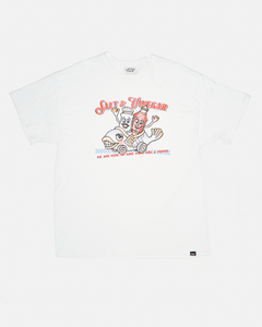 FISH & CHIPS CARTOON GRAPHIC TEE