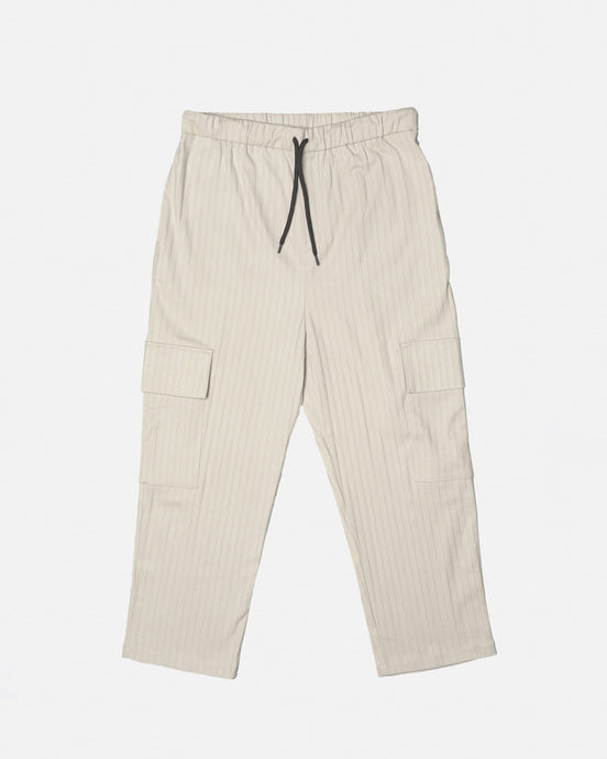 Soft Cord Cargo Trousers