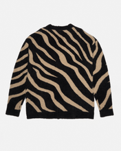 Load image into Gallery viewer, ZEBRA KNIT BEIGE CARDIGAN