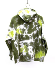 Load image into Gallery viewer, Dos Segundos Tie Dye Hoodie Green