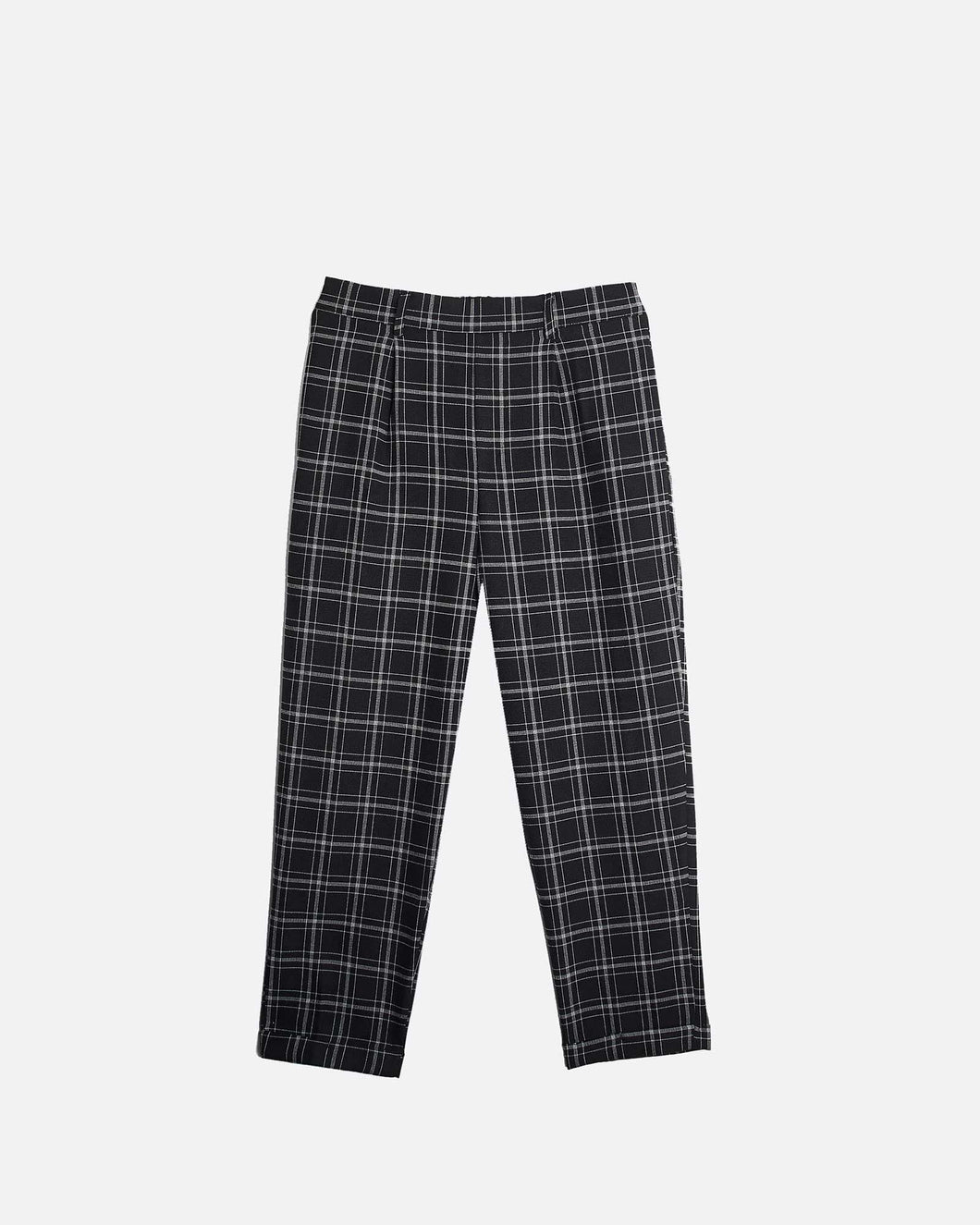 RELAX CHECK TROUSERS