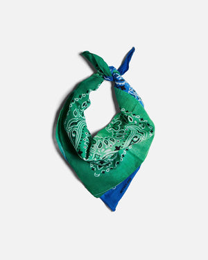 GREEN & BLUE OMBRE BANDANA