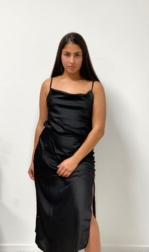 Open image in slideshow, Black Party Dress