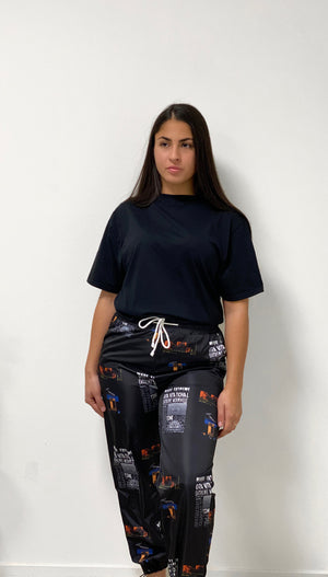 Open image in slideshow, Graphic Pants