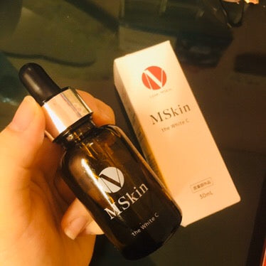 Mskin White C bottle - front