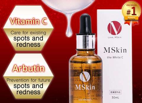 Mskin White C Whitening Serum for dark spots