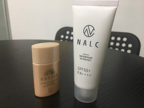 NALC Sunscreen VS Anessa Sunscreen