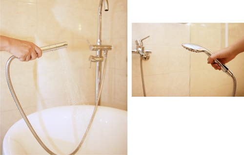 Takagi Shower Head before and after
