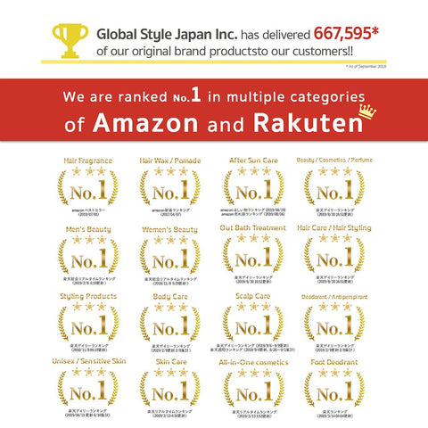 Mskin White C ranked no. 1 in Rakuten & Amazon Japan