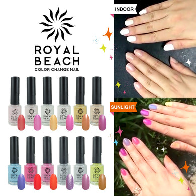 Royal Beach Color Change Nail (8ml) - JLN - Japan Premium Malaysia