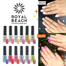 Load image into Gallery viewer, Royal Beach 变色指甲 (8ml) - JLN