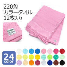 Load image into Gallery viewer, (Pre-order) Made in Japan 100% Cotton High Quality Color Towel (34 x 87 cm) - PRE