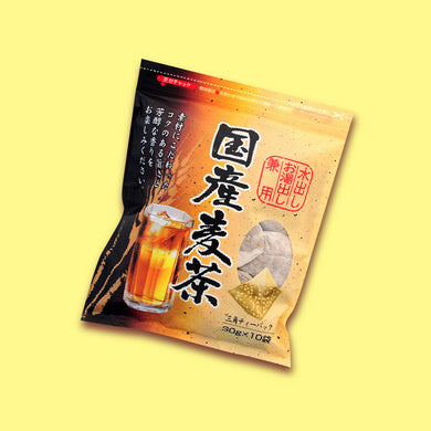 Everything from JP - Japanese Barley Tea Triangle Teabag 30g x 10 - EFJ - Japan Premium Malaysia