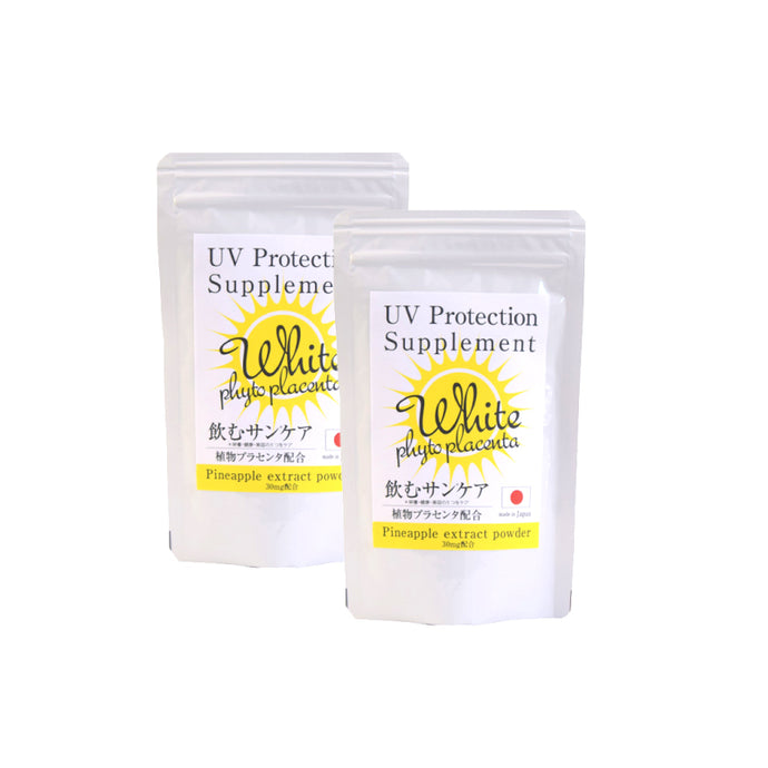 CRYSTAL WHITE UV PROTECTION SUPPLEMENT (90 TABLETS) - BUY 2 SZH