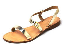 Load image into Gallery viewer, Danyu - Sonia C Leather Strap Sandals - DYU