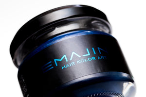 Hair color wax EMAJINY Mysterious Blue M25 36g - HRS - Japan Premium Malaysia