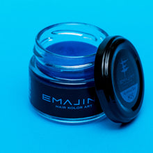 Load image into Gallery viewer, Hair color wax EMAJINY Mysterious Blue M25 36g - HRS - Japan Premium Malaysia