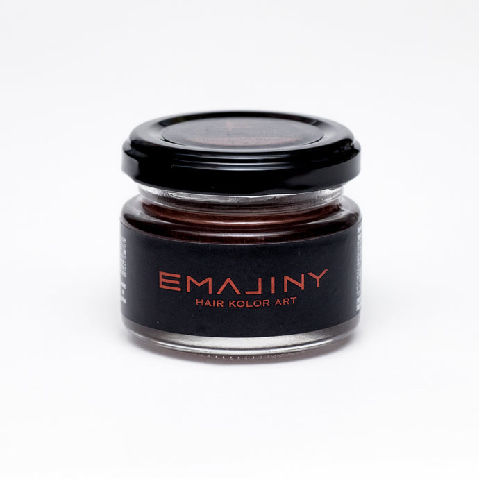 Hair color wax EMAJINY Terra Cotta Brown T27 36g -HRS - Japan Premium Malaysia