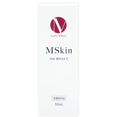 MSkin the White C Whitening Serum 美白精华液 (30ml) - GBS - Japan Premium Malaysia