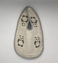 Load image into Gallery viewer, Six Hold Weave Gauze Baby Bib Single Color Pattern 六层纱布婴儿围兜 单色图案 - UNF