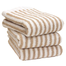 Load image into Gallery viewer, Hotel style towel Face towel(stripe) 3set - MNK