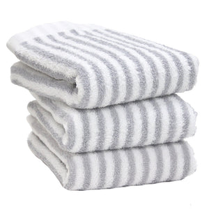 Hotel style towel Face towel(stripe) 3set - MNK
