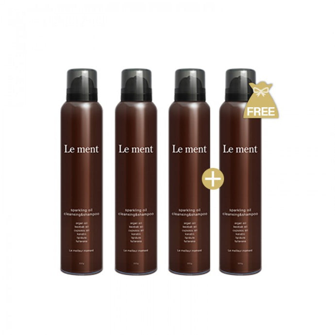 LE MENT SPARKLING OIL CLEANSING & SHAMPOO (200G) BUY 3 FREE 1 - MGC