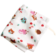 Load image into Gallery viewer, Gauze Hand Towel for Girls (1 Set-Pattern for girls x3, Sweets design pattern x3) - MNK