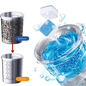 【Pre-order】TubFresher - Antibacterial Washing Machine Deep Cleaning Detergent Effervescent Tablet - GLB