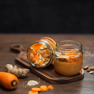 Carrot Smoothie Jar