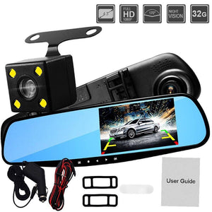 ULTRA HD DUAL LENS DASH CAM