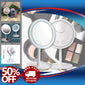 Magnifier LED Makeup Mirror Light  with Fan