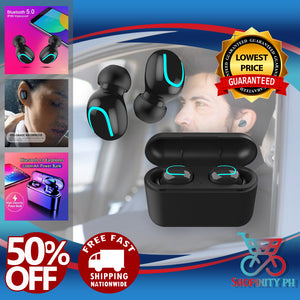 WATER PROOF WIRELESS POWERBANK EARBUDS